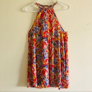 American Eagle floral print mini dress